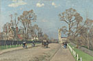 Camille Pissarro: 'The Avenue, Sydenham'