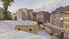 Eduard Gaertner: 'The Friedrichsgracht, Berlin'