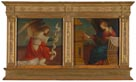 Gaudenzio Ferrari, 'Annunciation Panels from an Altarpiece'