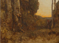 Jean-Baptiste-Camille Corot, The Four Times of Day: Morning, about 1858