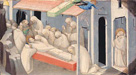 Lorenzo Monaco: 'The Death of Saint Benedict: Predella Panel'