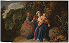 Pieter Lastman: 'The Rest on the Flight into Egypt'