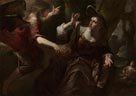 Gioacchino Assereto: 'The Angel appears to Hagar and Ishmael'