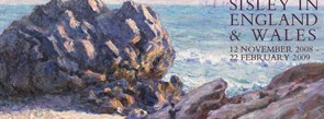 Alfred Sisley, 'Storr Rock, Lady's Cove, evening', 1897  © Amgueddfa Cymru - National Museum of Wales (NMW A 26362)