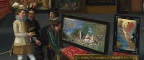 Flemish: 'Cognoscenti in a Room hung with Pictures' about 1620