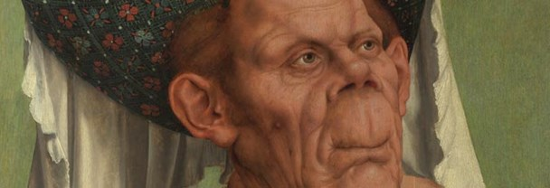 Attributed to Quinten Massys: An Old Woman ('The Ugly Duchess')