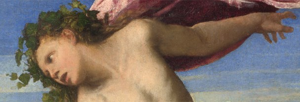 Detail from Titian, 'Bacchus and Ariadne, 1520-3
