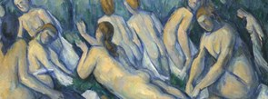 Detail from Cezanne, 'Bathers (Les Grandes Baigneuses)', about 1894-1905