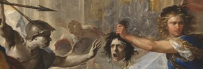 Detail from Luca Giordano, 'Perseus turning Phineas to Stone', early 1680s