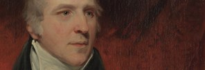 Detail from John Hoppner: 'Sir George Beaumont', 1803