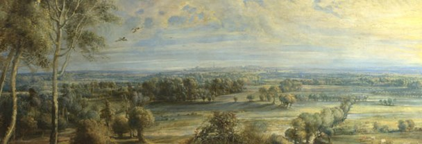 Rubens: 'An Autumn Landscape with a View of Het Steen in the Early Morning'