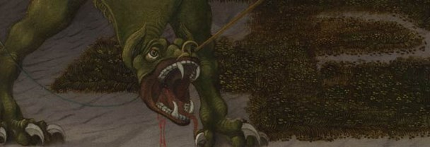 Detail from Paolo Uccello, 'Saint George and the Dragon', about 1470