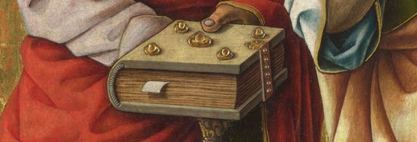 Detail from Carlo Crivelli, 'Saints Peter and Paul', probably 1470s
