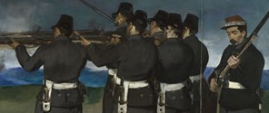 Detail from Edouard Manet, 'The Execution of Maximilian', about 1867-8