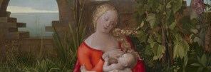 Workshop of Albrecht Dürer, 'The Virgin and Child ('The Madonna with the Iris')', about 1500-10