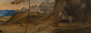 Detail from Giorgione, Il Tramonto (The Sunset)