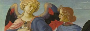 Detail of Workshop of Andrea del Verrocchio: 'Tobias and the Angel'