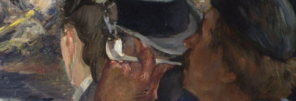 Detail from Edouard Manet, Corner of a Café-Concert