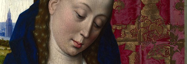 Detail from Dirk Bouts, 'The Virgin and Child'