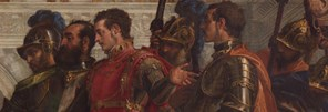 Detail from Paolo Veronese: 'The Family of Darius before Alexander', 1565-7