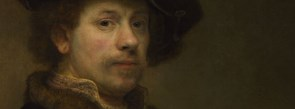 Detail from Rembrandt 'Self Portrait at the Age of 34'