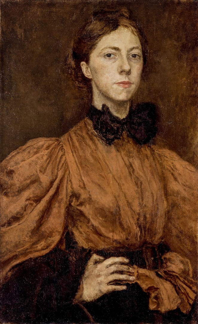 Self portrait by Gwen John