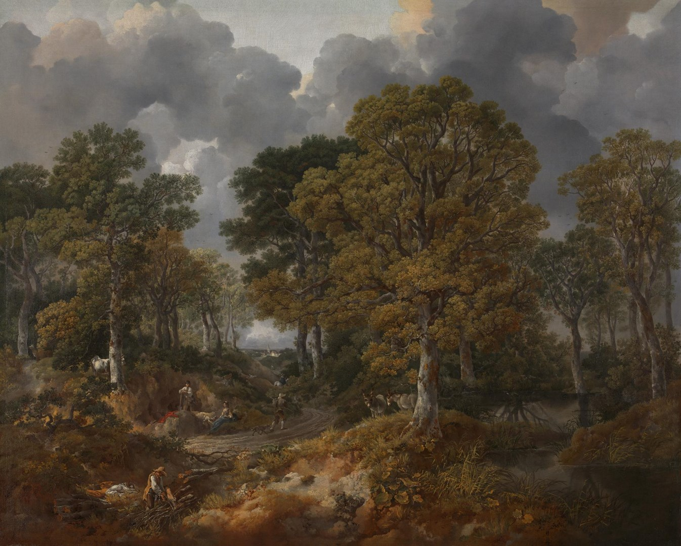 Cornard Wood, near Sudbury, Suffolk by Thomas Gainsborough