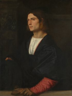 Titian Portrait Of A Young Man L611 National Gallery