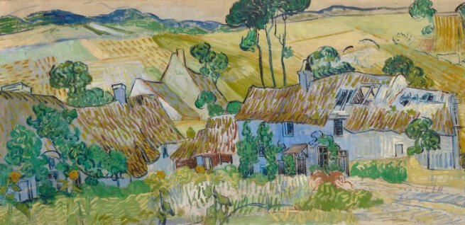 Vincent van Gogh | Farms near Auvers | L711 | National