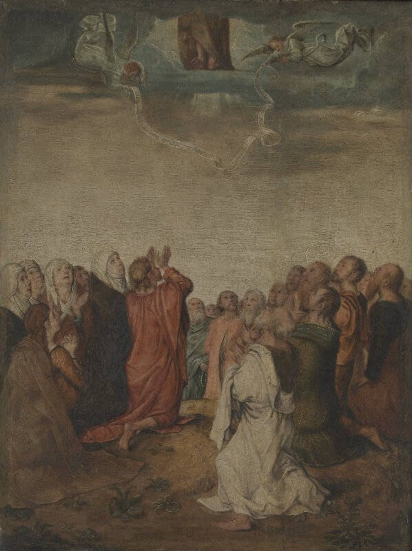 Michel Sittow The Ascension L1002 National Gallery