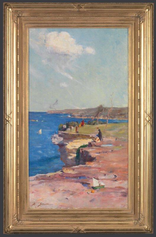 Arthur Streeton Blue Pacific L1177 National Gallery