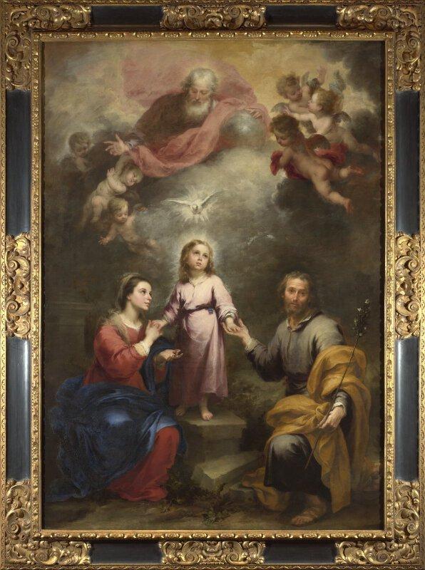Bartolomé Esteban Murillo   The Heavenly and Earthly ...