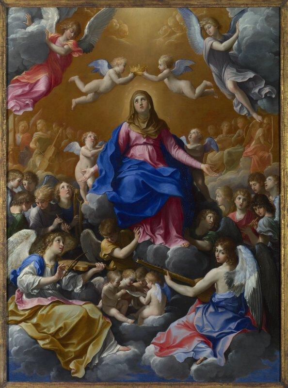 Guido Reni The Coronation Of The Virgin Ng214