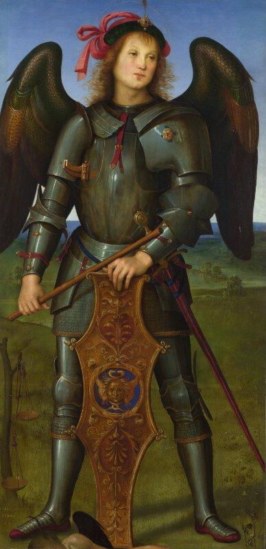 Pietro Perugino The Archangel Michael Ng288 2