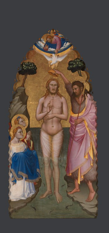 The Baptism of Christ: Main Tier Central Panel