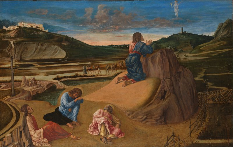 Giovanni Bellini The Agony In The Garden Ng726 National Gallery London