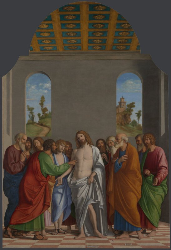 Giovanni Battista Cima Da Conegliano The Incredulity Of Saint Thomas Ng816 National