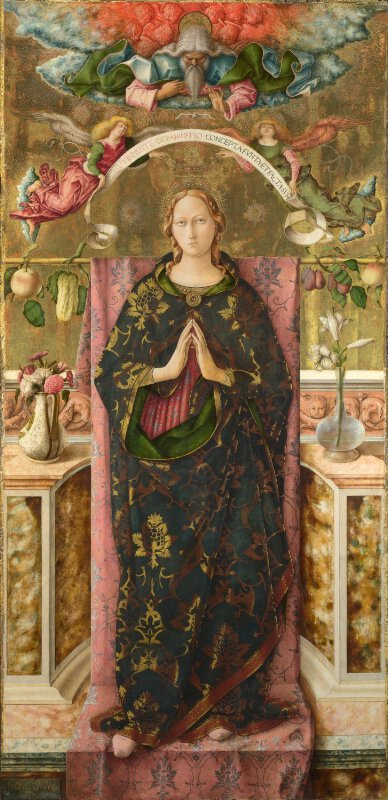 Carlo Crivelli The Immaculate Conception Ng906