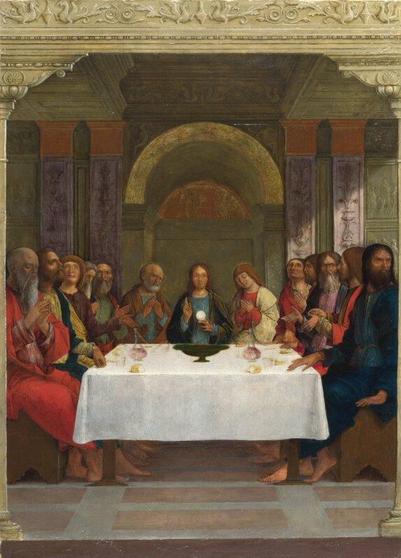 Ercole De Roberti The Institution Of The Eucharist