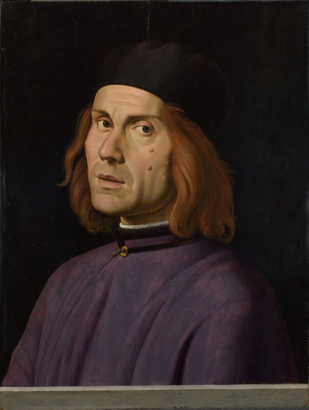 Portrait (supposed to be of Battista Fiera)