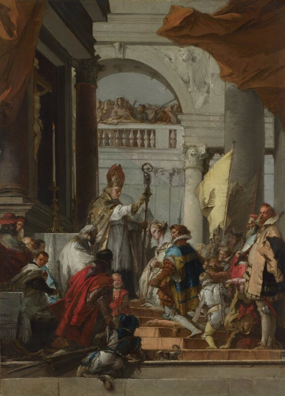 giovanni domenico tiepolo the marriage of frederick
