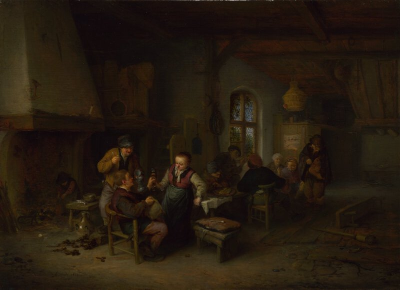 The Interior of an Inn