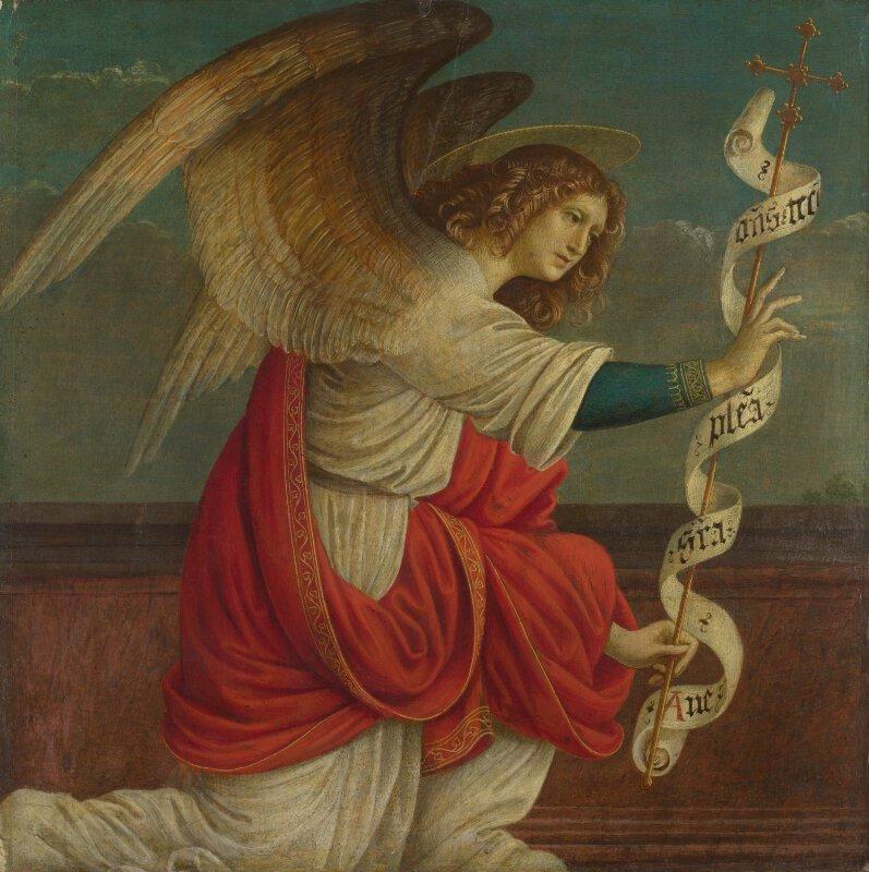 Gaudenzio Ferrari | The Annunciation: The Angel Gabriel ...