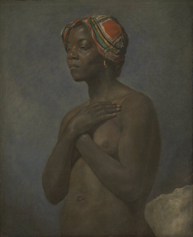french a black woman ng3250 national gallery london