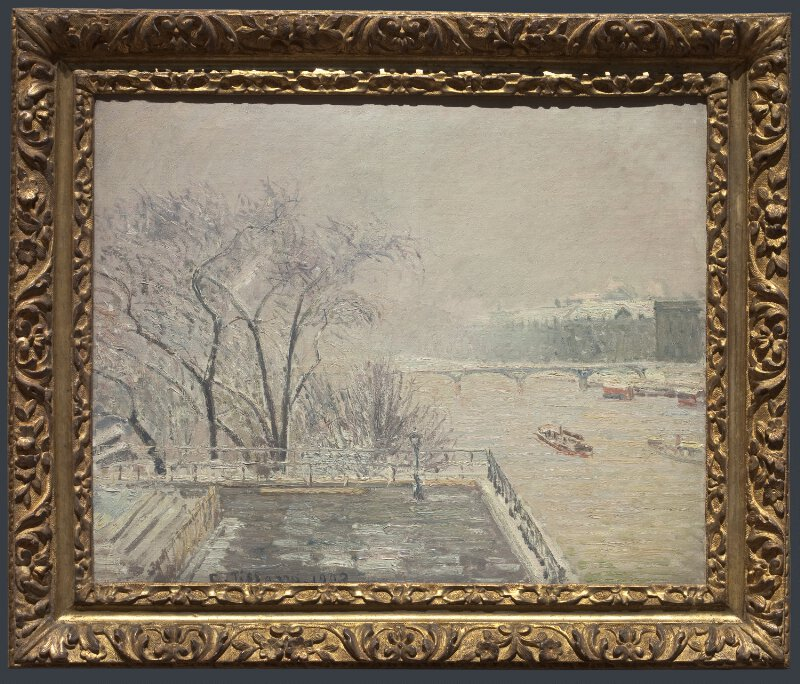 Camille Pissarro The Louvre Under Snow Ng4671