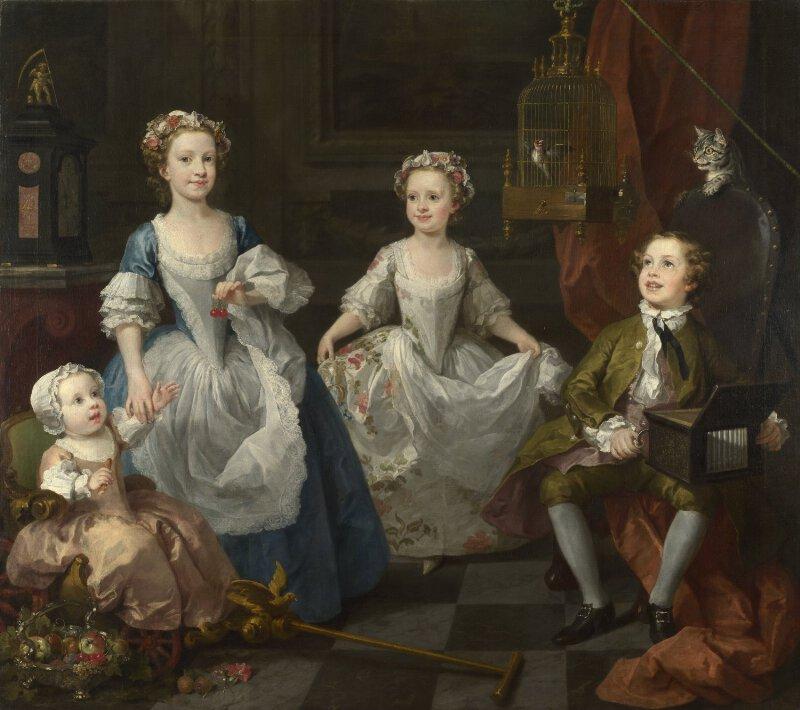 william hogarth the graham children ng4756 national gallery london - Pics For Children