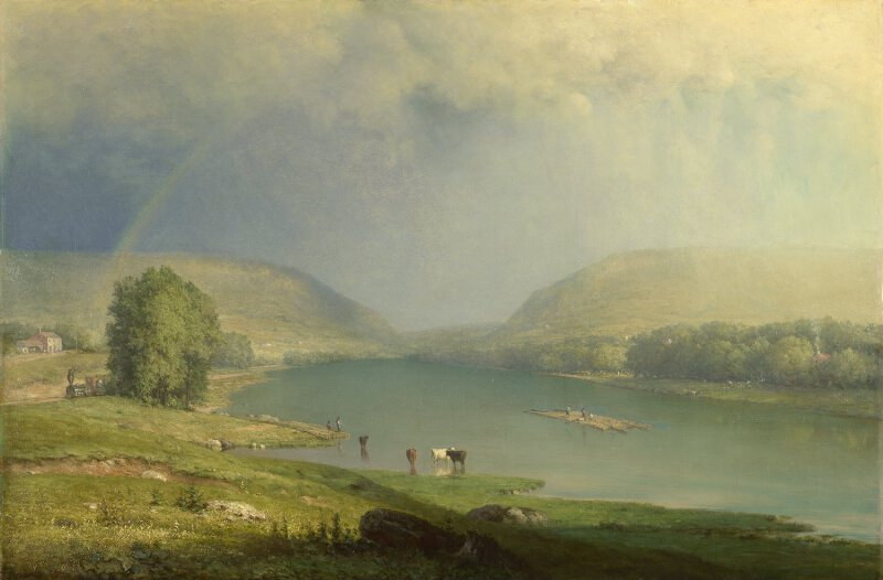 George Inness The Delaware Water Gap Ng4998 National Gallery London
