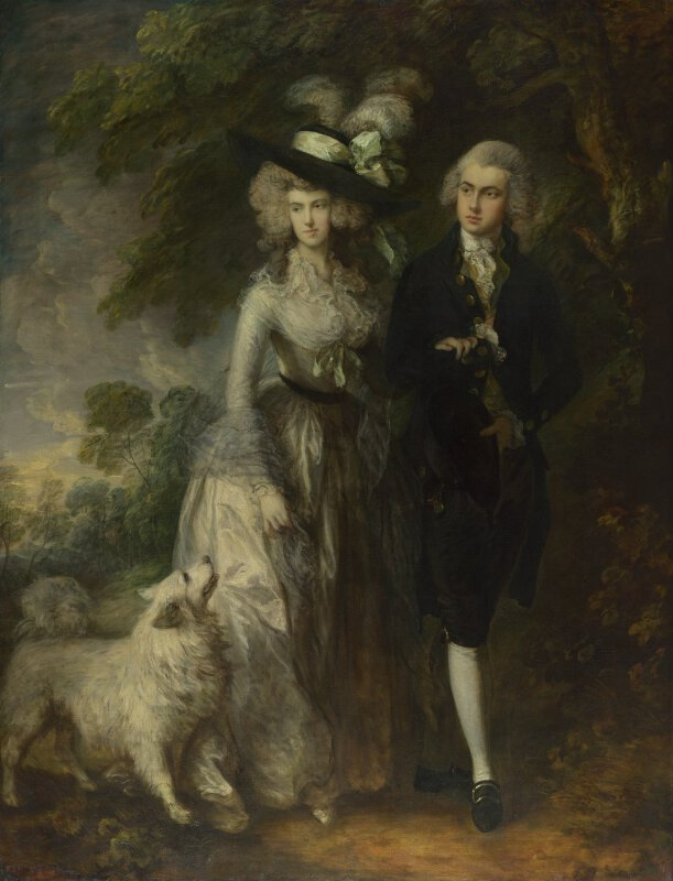 thomas gainsborough mr and mrs william hallett 39 the morning walk 39 ng6209 national. Black Bedroom Furniture Sets. Home Design Ideas