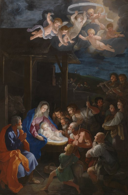 Guido Reni The Adoration Of The Shepherds Ng6270