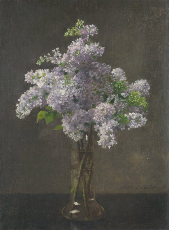 Otto Franz Scholderer Lilac Ng6401 National Gallery